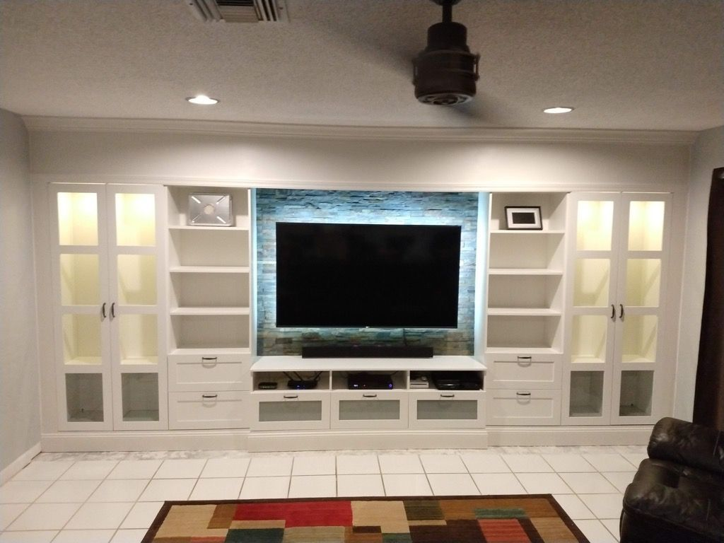 Entertainment How to DIY an affordable IKEA entertainment wall