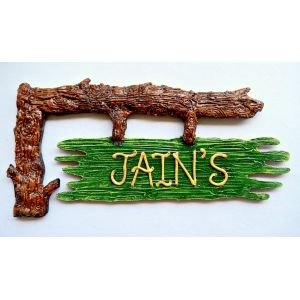 Nameplate Tree Branch Name Plates Names Door Name Plates Plates