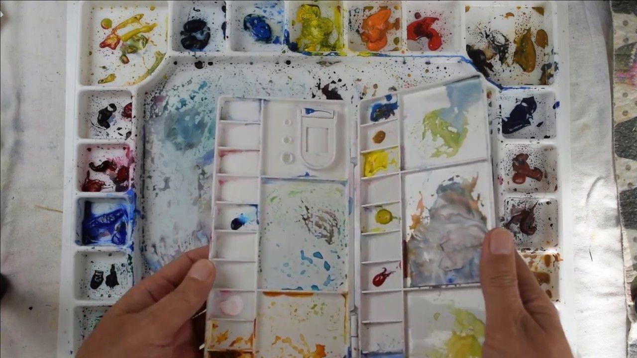 Ma Palette Comment Organiser Ses Couleurs D Aquarelle