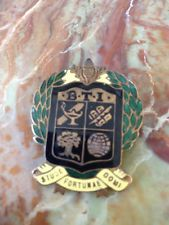 Masonic Button Hole Enamel Badge