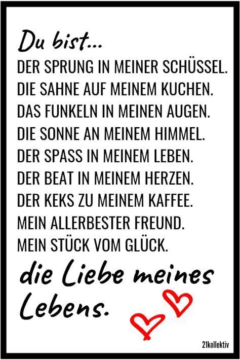 love sayings: sayings that go to the heart Liebessprüche: Sprüche, die zu Herzen gehen You are the love of my life!