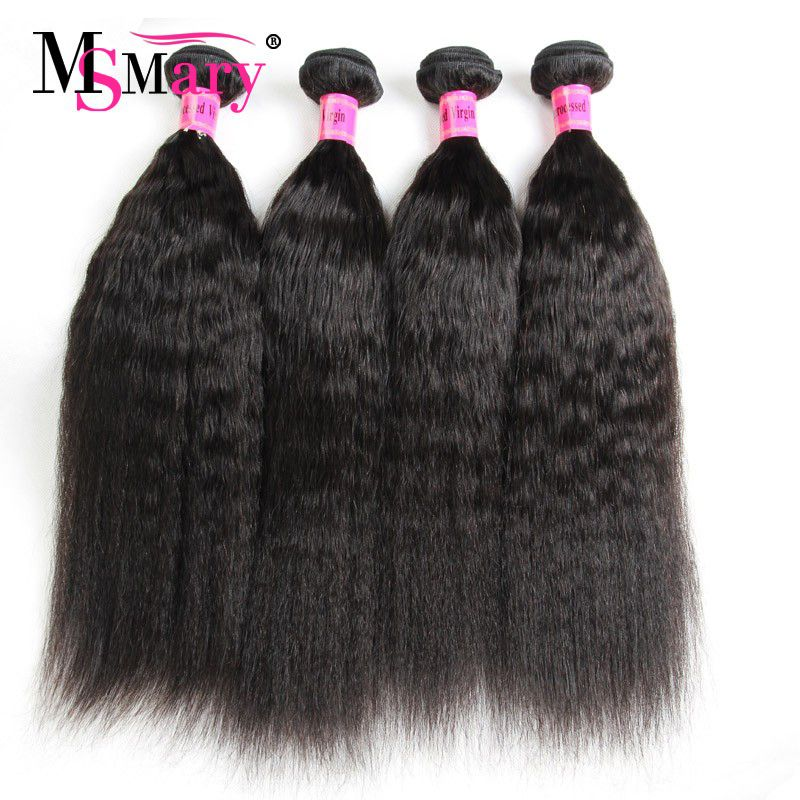 Wholesale Virgin Hair Vendors Yaki Straight Human Hair Weave We Need