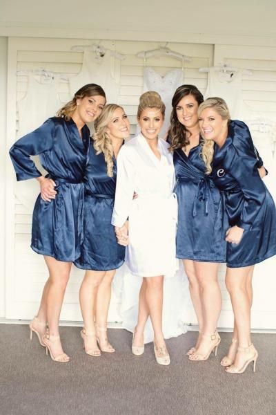 The Wedding Prep Gals want to make your special day as amazing as possible.  Some of our Brides were so happy with our bridesmaid and bride robes 50dbcbd43