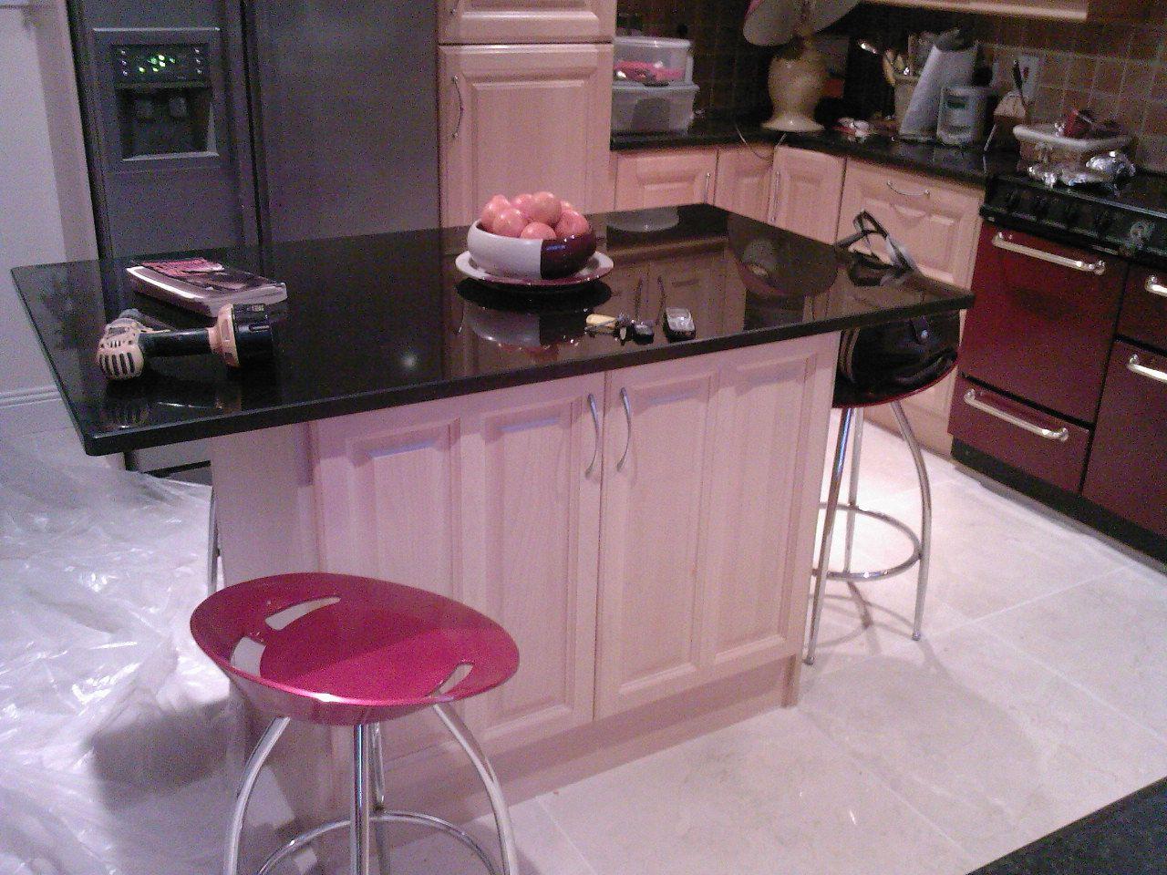 Kitchen Design Granite Fascinating Wonderful Kitchen Island With Granite Worktop  Kitchen Design Inspiration Design