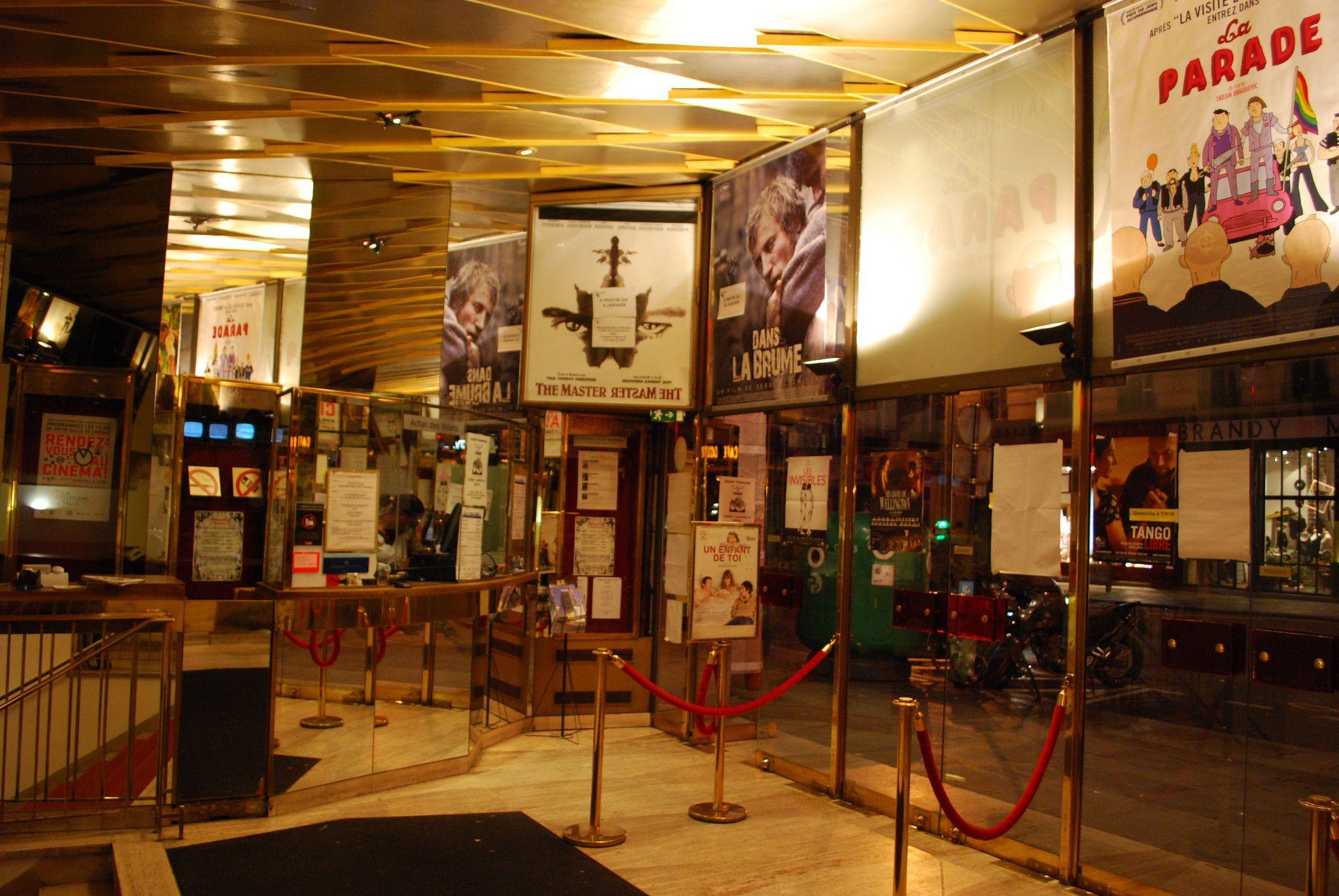 Cinéma l'Arlequin, rue de Rennes, Paris   by Mathieu FRANCOIS DU BERTRAND