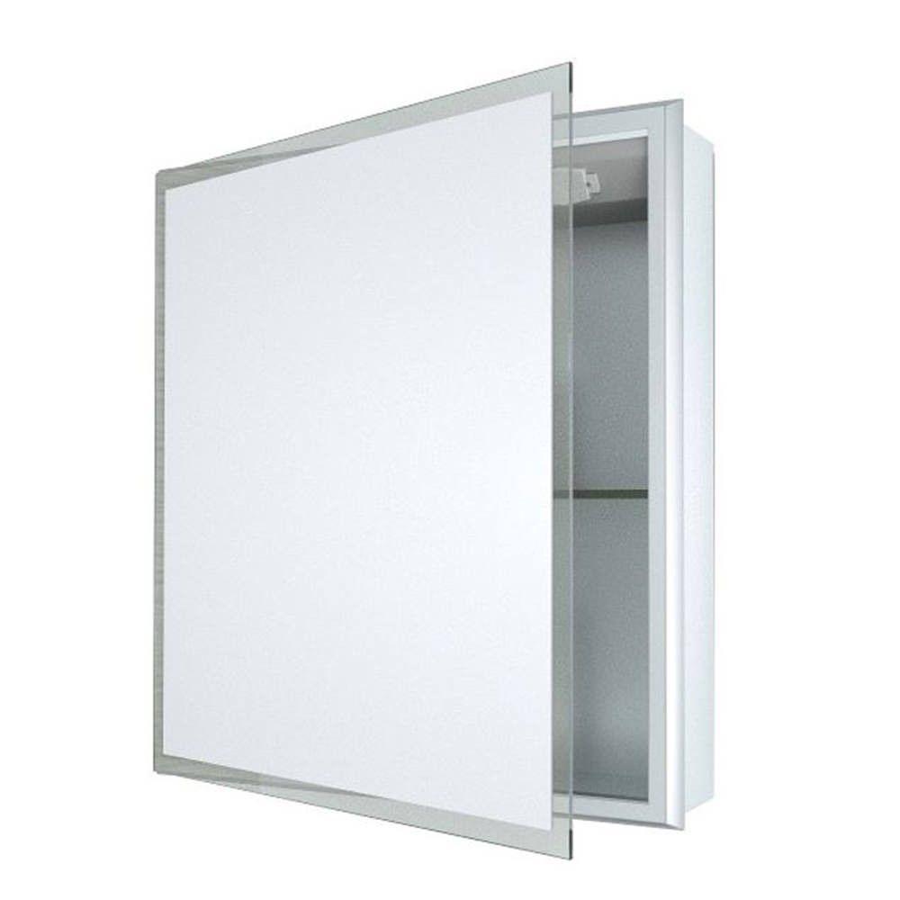 Saneux Inside 545mm Recessed Aluminium Cabinet Bathroom