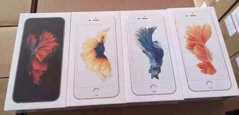 Lee Nuevas fotos muestran el empaquetado del iPhone 6s en todos sus colores