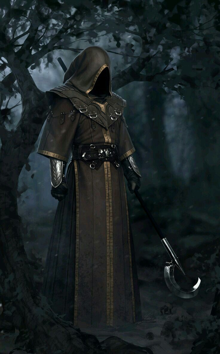 Hooded Forger in 2019 | Character art, Warlock 2, Character
