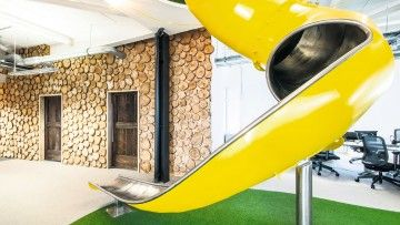 Imaginative office design attracting top talent