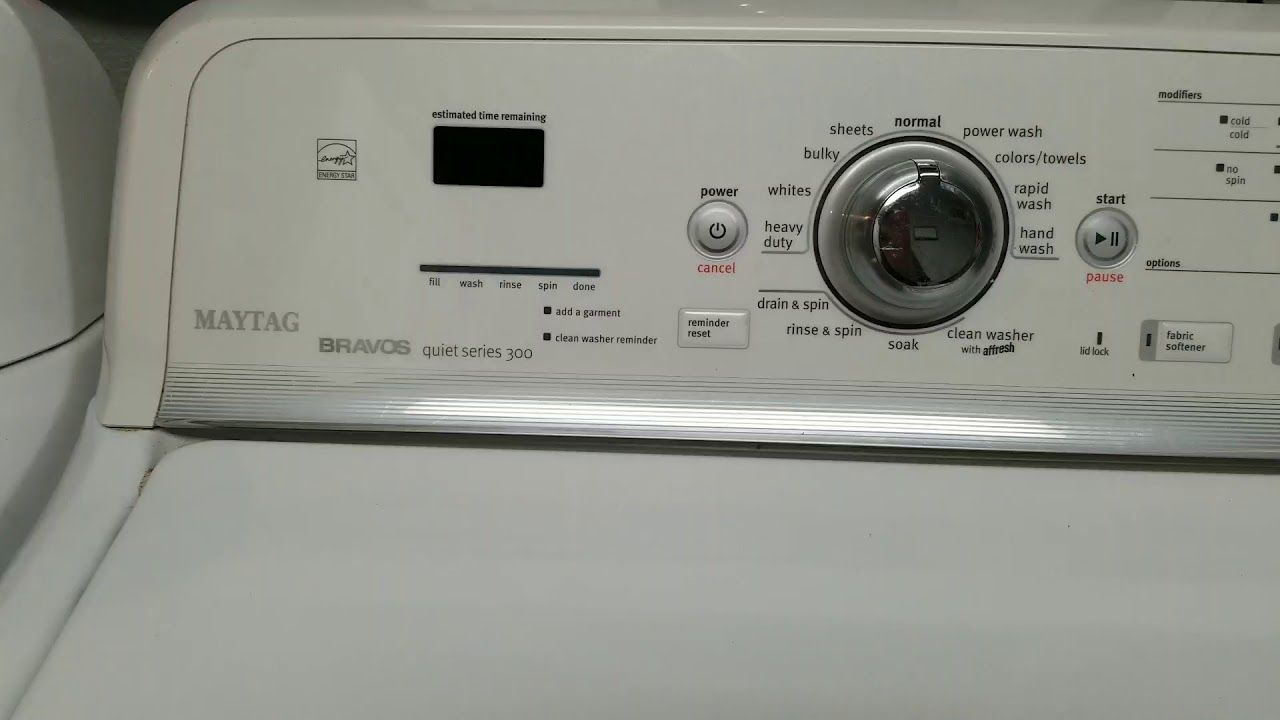 Maytag Washer Lid Lock Bypass Youtube Maytag Washers Maytag Clean Washer