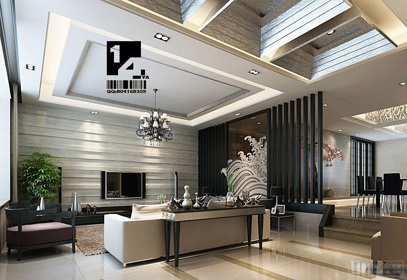 14 ya modern oriental chinese interior decorating ideas for Modern interior design living room white