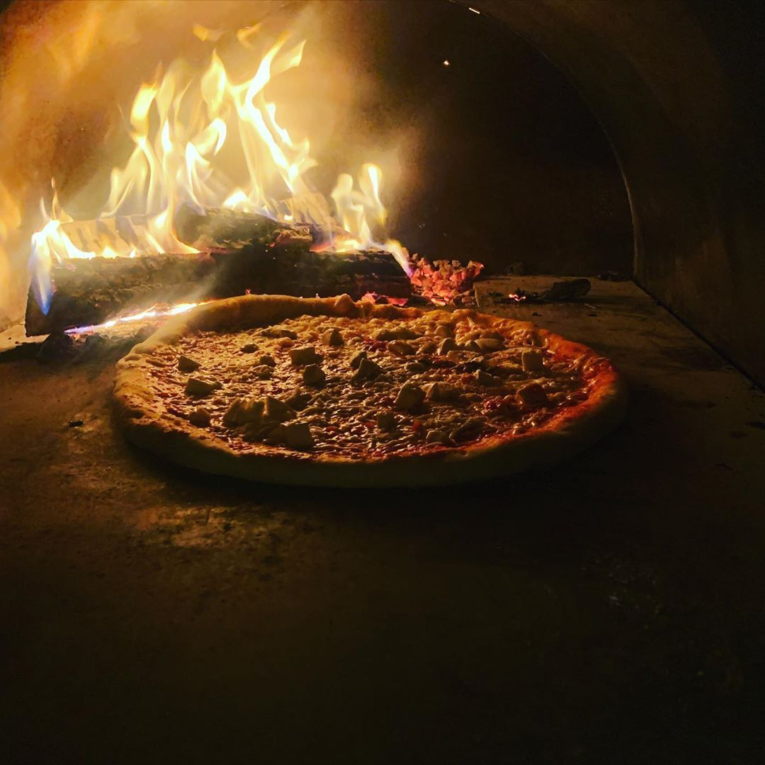 Another one from wood fired oven.. Pizza is everything!! #Pizza #Pizzas #food #foods
