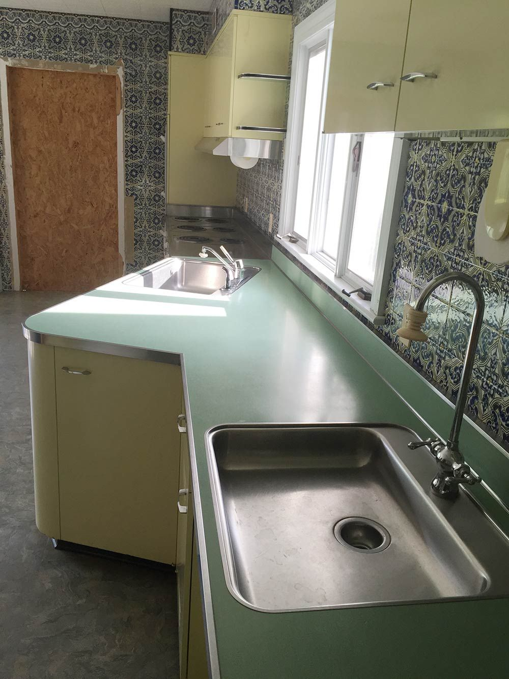 Vintage St Charles Kitchen Cabinets With Thermador Ovens And Lots More Outdoor Kitchen Cabinets Kitchen Cabinets Vintage Cabinets