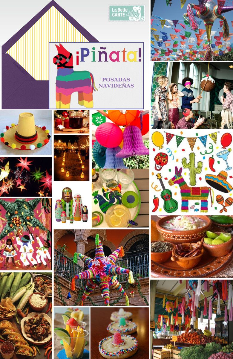 Mexican Christmas Party Ideas Part - 24: Pinata Party Ideas For La Posada