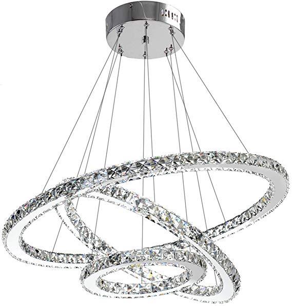 Antilisha Modern Crystal Chandelier Lighting Ceiling Dining Room Living Room Chandeli In 2020 Crystal Chandelier Lighting Modern Crystal Chandelier Chandelier Lighting
