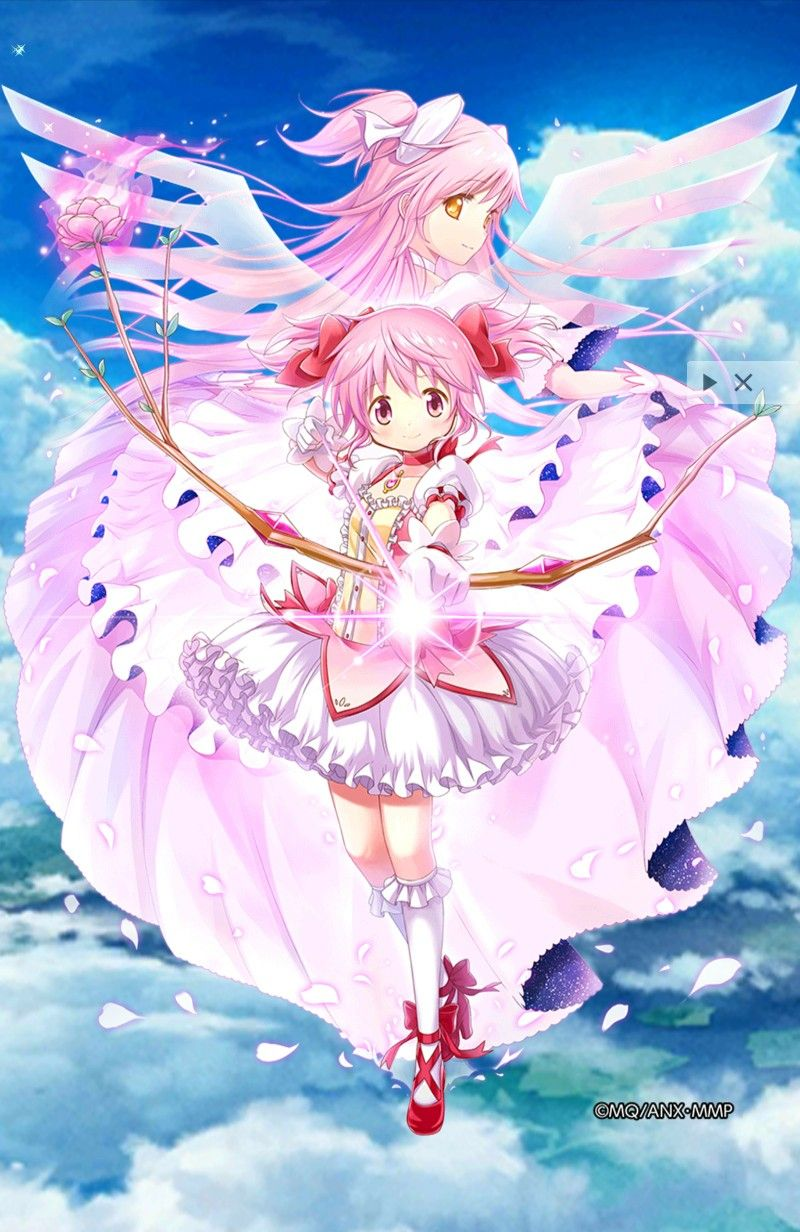 Pin By Ana Monici On Madoka In Anime Wallpaper Anime Madoka Magica