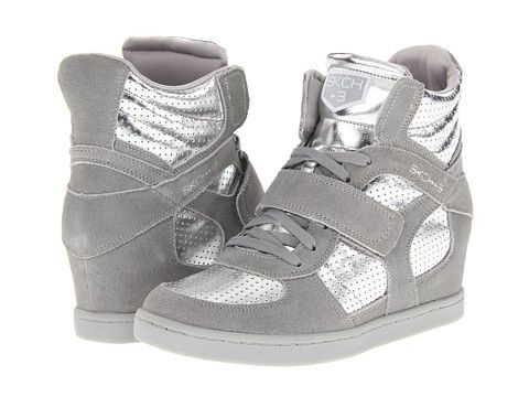 68221831a3b9 SKECHERS SKCH Plus 3- Dunk It Gray Silver - Zappos.com Free Shipping BOTH  Ways
