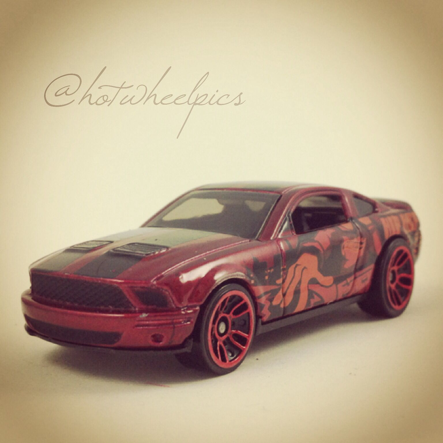 """Hip Hop"""" 07 Ford Shelby GT 500 2013 Hot Wheels """"Jukebox Series"""