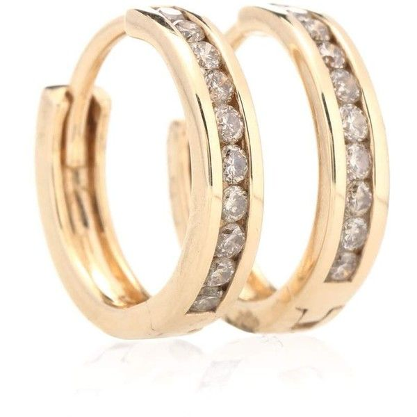 Anna Sheffield Licol 14kt gold and diamonds earrings y1YzpqdYd