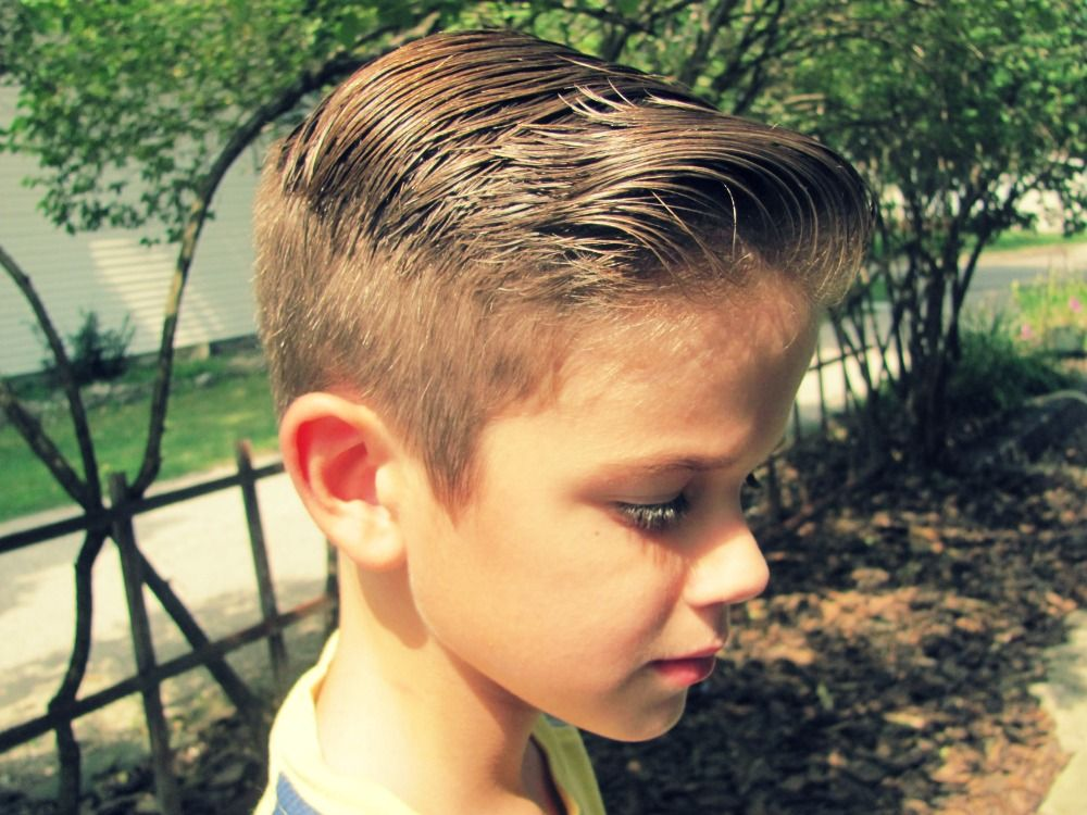 Select New Trends 2015 Latest Haircut For School Boys New