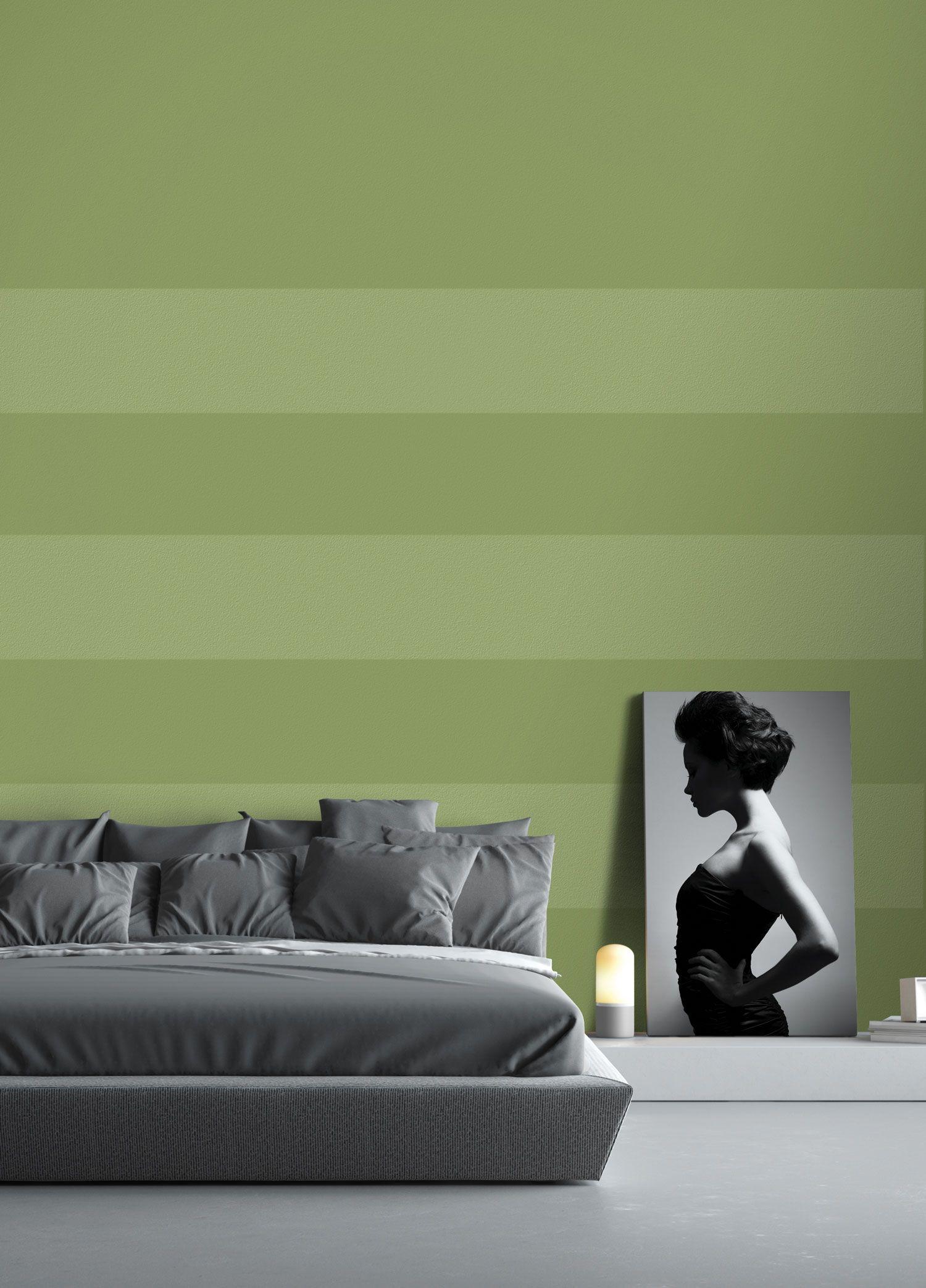 Peinture Sico La Couleur Verte Dans La Chambre Coucher Pourquoi