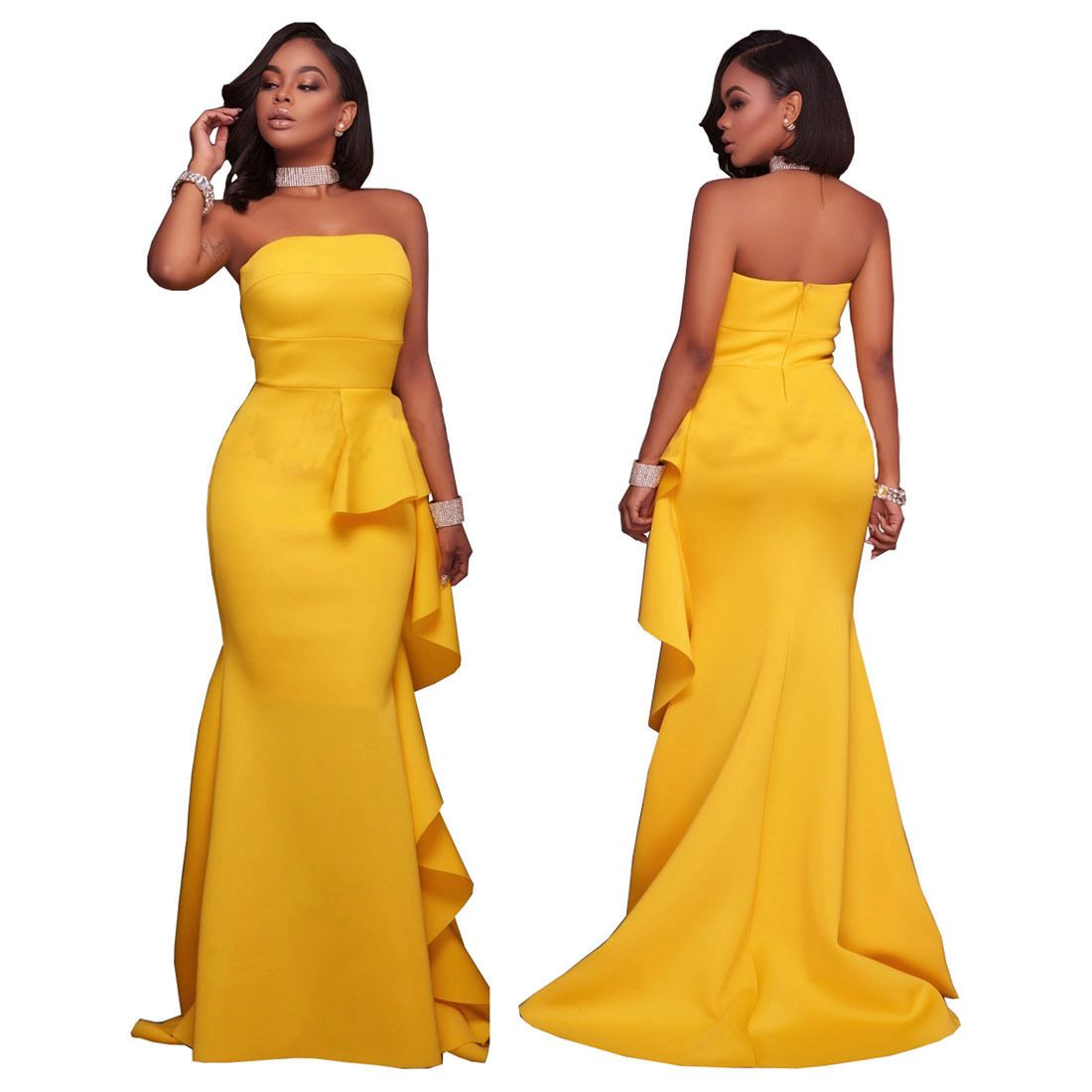 Formal dresses for summer wedding  Long Mermaid Evening Formal Party Cocktail Bridesmaid Prom Gown