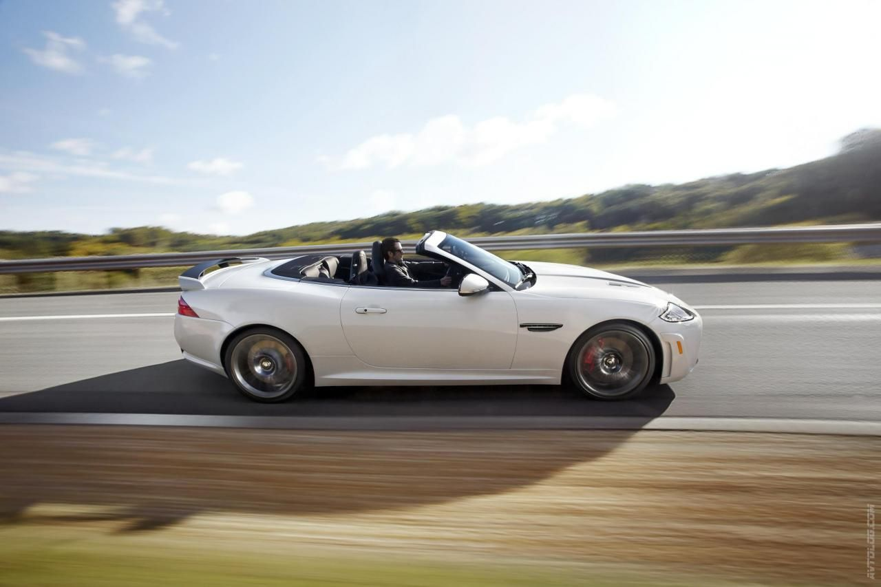 2012 Jaguar xkr s convertible 2012