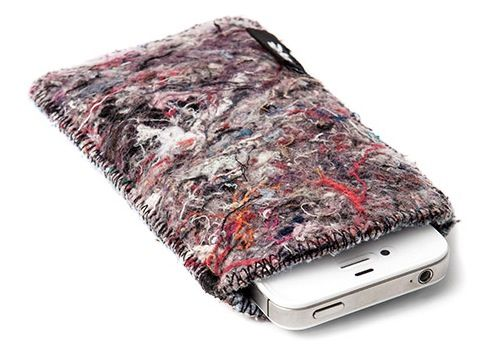 best sneakers 8bddb d3c87 Shred' iphone case made from recycled household fabrics. | design ...