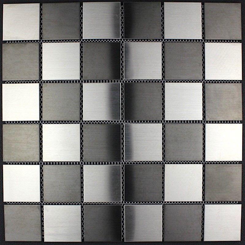 piastrelle mosaico in inox cucina e bagno mi-duo 16,50 € https://www ...