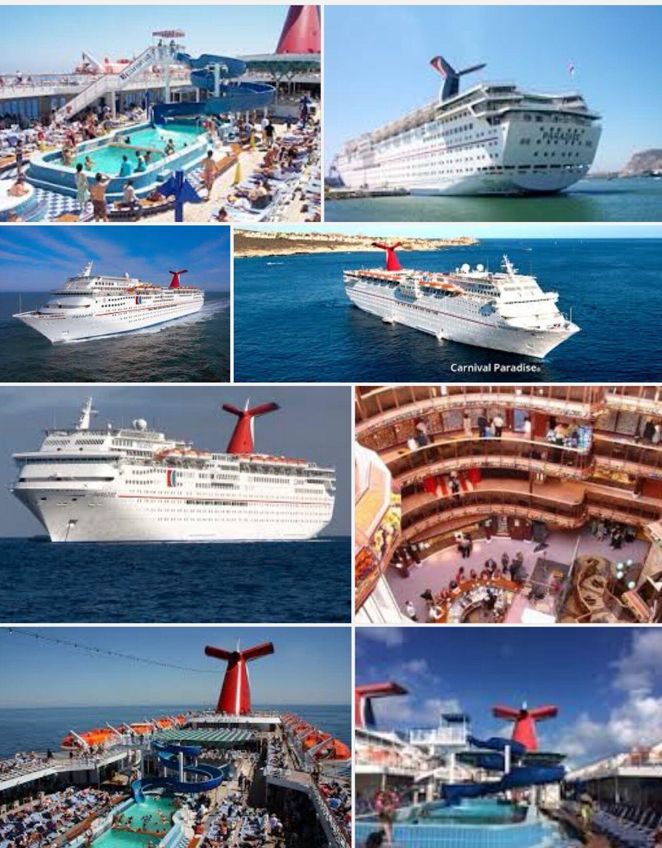 Carnival Paradise Cruise, Paradise