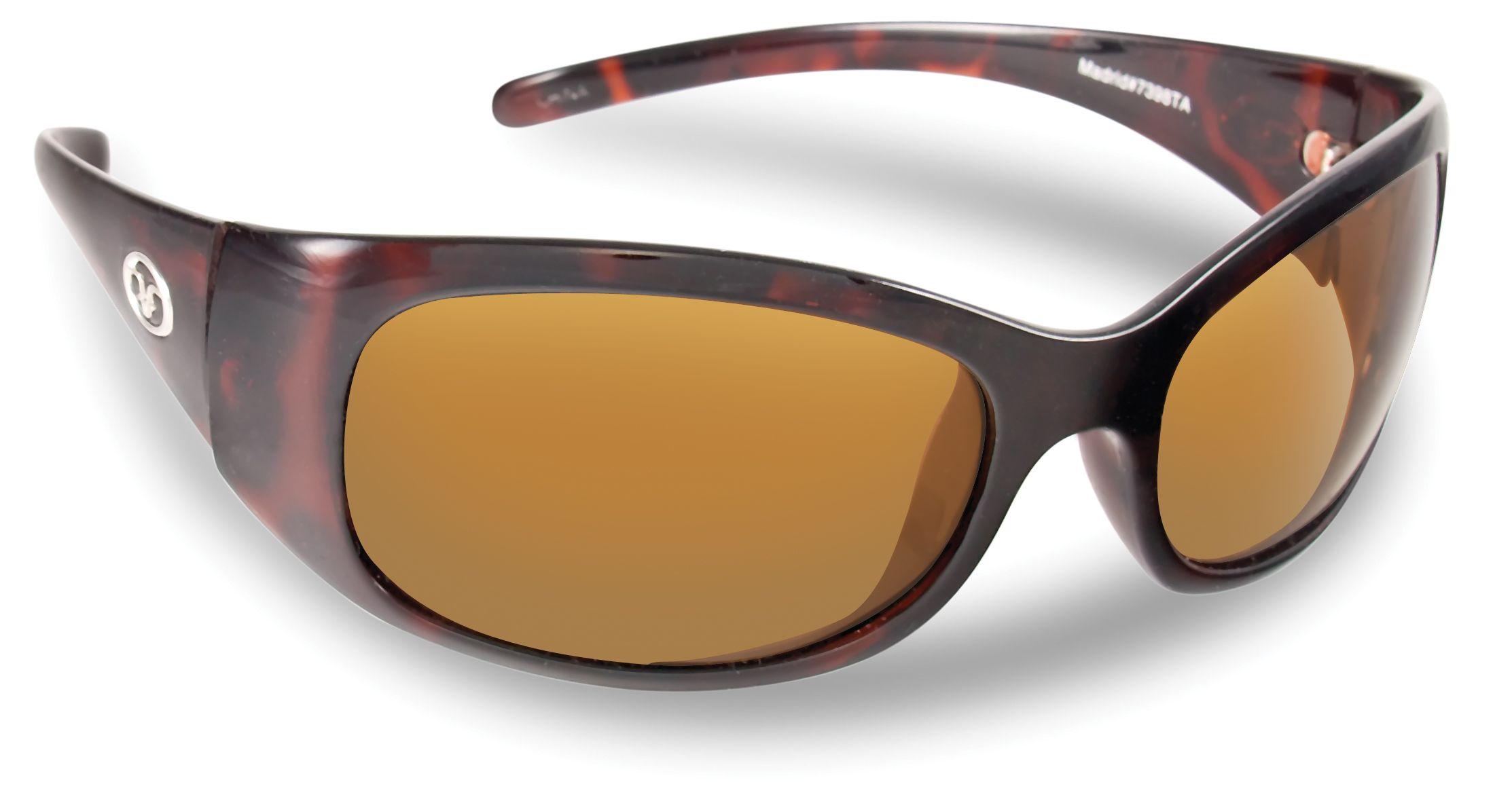 Madrid Tortoise Amber polarized sunglasses by Flying