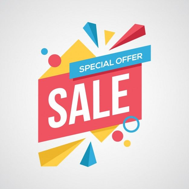 Sale Background Vector | Free Vector Download | Sale logo
