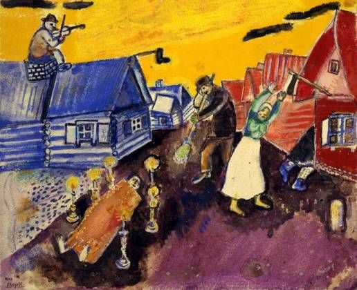 Chagall Like A Fiddler On The Roof Marc Chagall Chagall Art