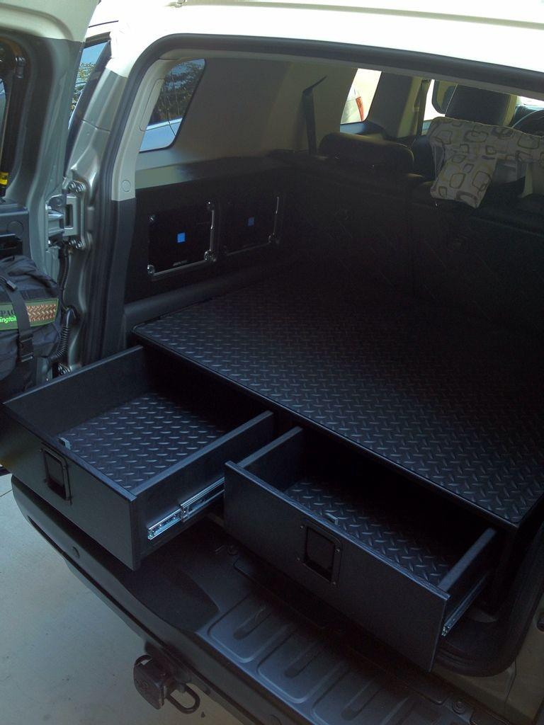 Rear Cargo Drawer Build Hank Ideas Autos Y Motocicletas