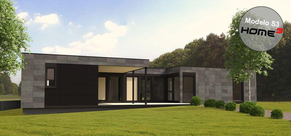 Vivienda prefabricada modular modelo s3 arquitectura for Construccion modular prefabricada