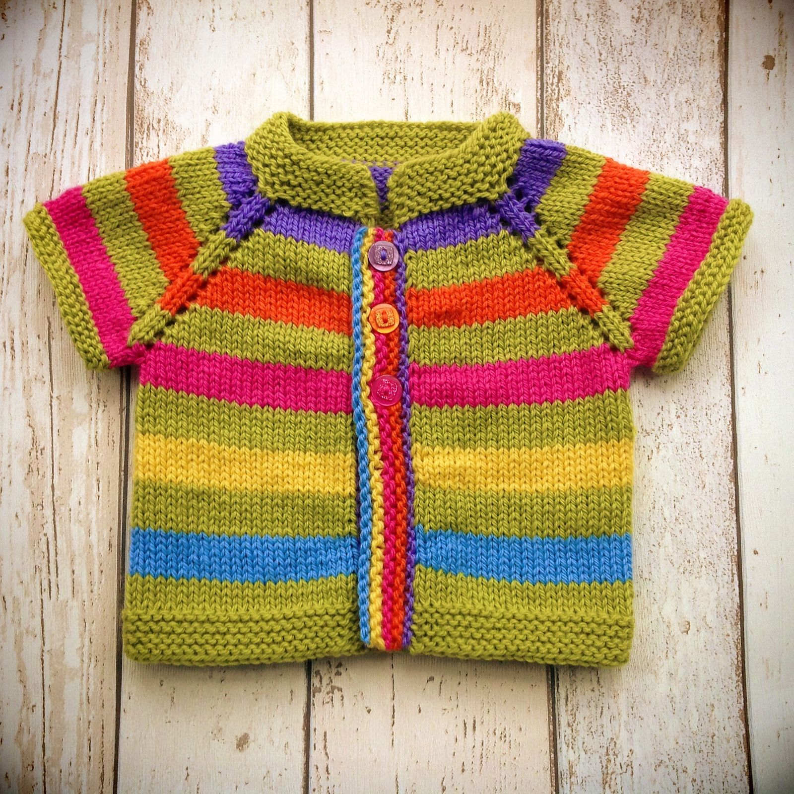 3de83369e643 Ravelry  Fuss Free Baby cardigan by Louise Tilbrook