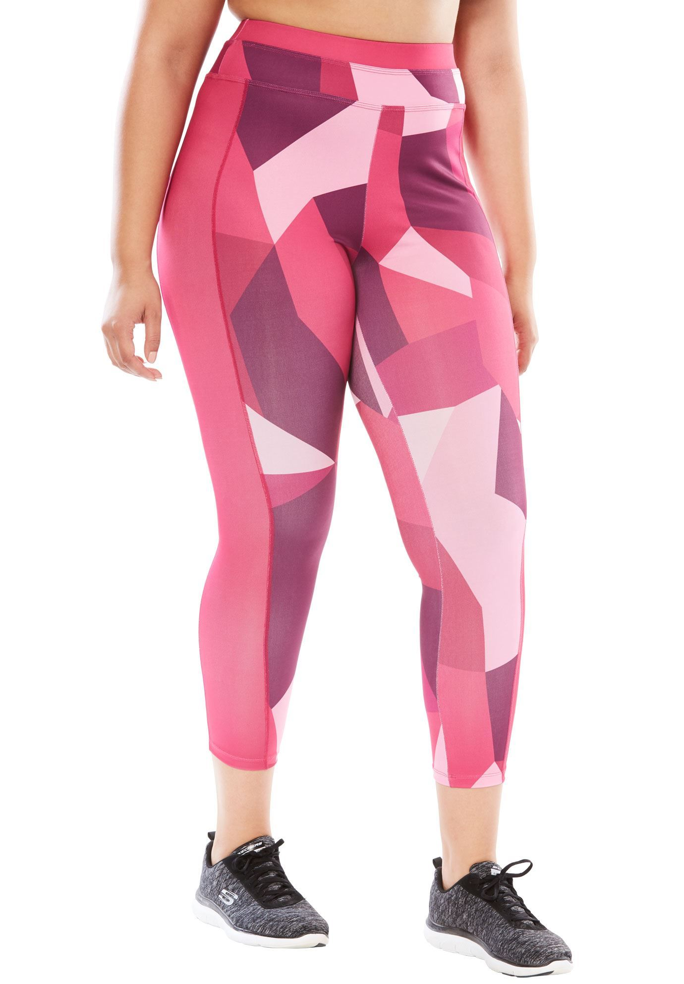 8466858cab3 Capri pants by FullBeauty SPORT - Women s Plus Size Clothing