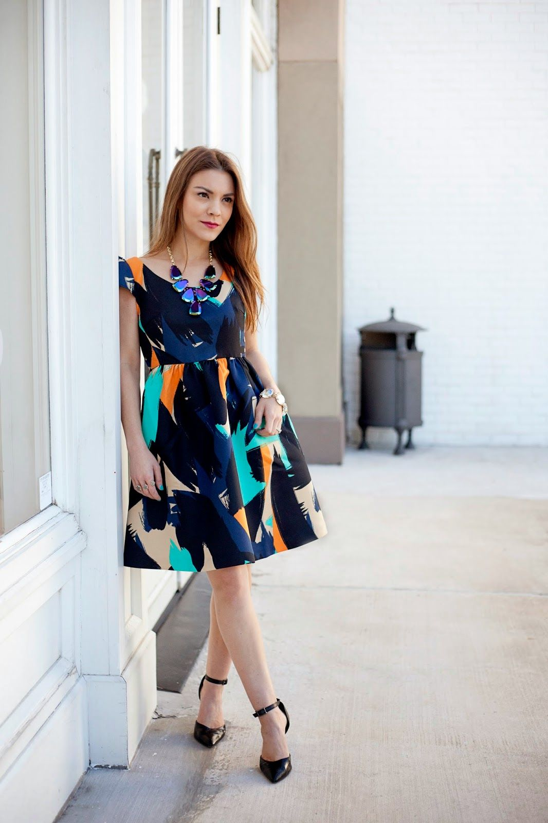 The must-have dress from #anthropologie #allzedetails #anthropetites