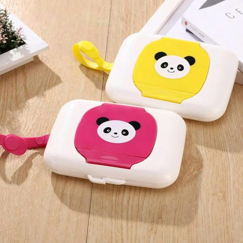 Baby Travel Wipe Case Child Wet Wipes Box Changing Dispenser Storage Holder Gift