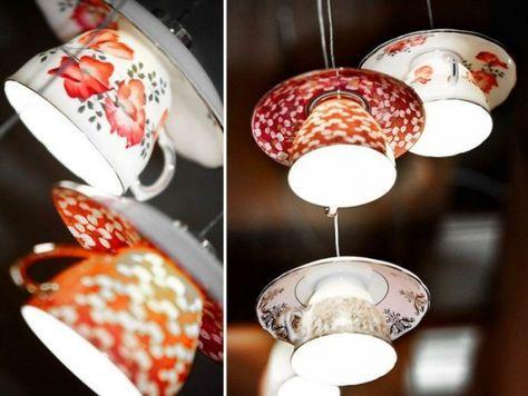 Designer Lampe selber bauen - ausgefallene Lampen #kronleuchterselbstbauen