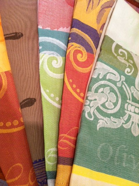 Garnier-Thiebaut French Tea Towels ~ We can even monogram them! ~ My Favorite Things ~ Tallahassee, FL ~ 800.983.2266