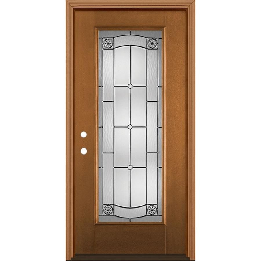 Masonite Elan 36 In X 80 In Fiberglass Full Lite Right Hand Inswing Woodhaven Stained Prehung Single Front Door Brickmould Included Lowes Com In 2020 Glass Decor Fiberglass Entry Doors Fiberglass Door Masonite offers an unparalleled selection of entry doors that are both beautiful and durable. pinterest