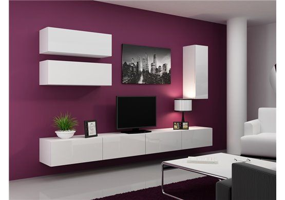 meuble tv design suspendu fino chloe