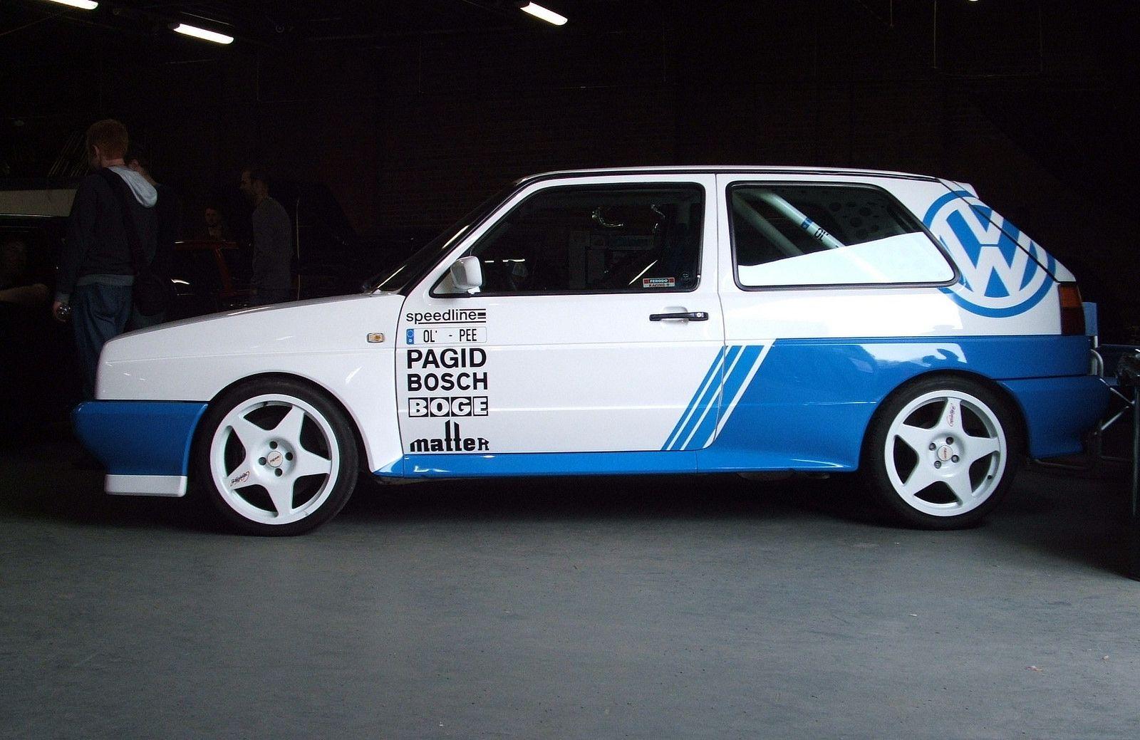 VW Golf Mk2 G60 Rallye | Golf mk2, Vw and Golf