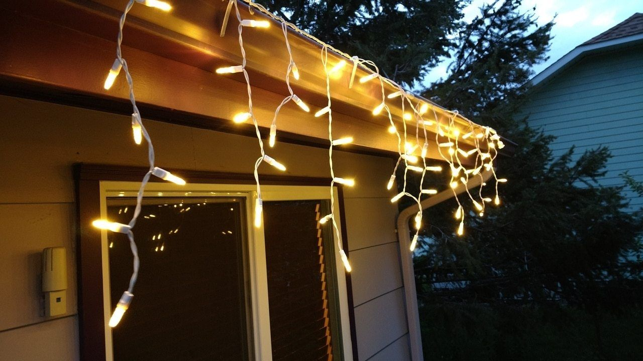 Outdoor Indoor Led Icicle Lights Warm White Led Icicle Lights Icicle Lights White Lead
