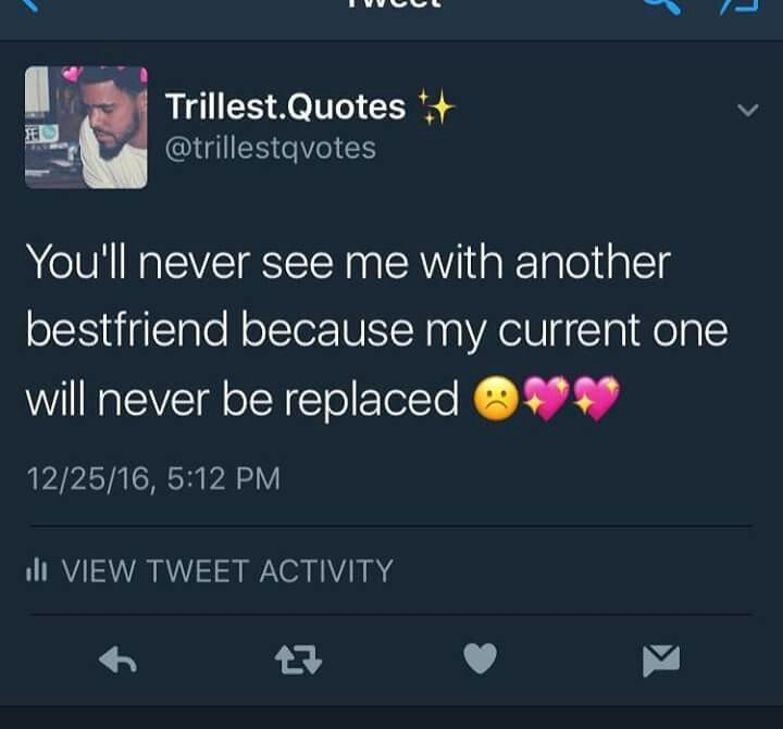 For Real I Have The Best Even If I Didnt Always Do Right By Her We Back On I Love Her Never Again Twitter Quotes Besties Quotes Best Friend Quotes