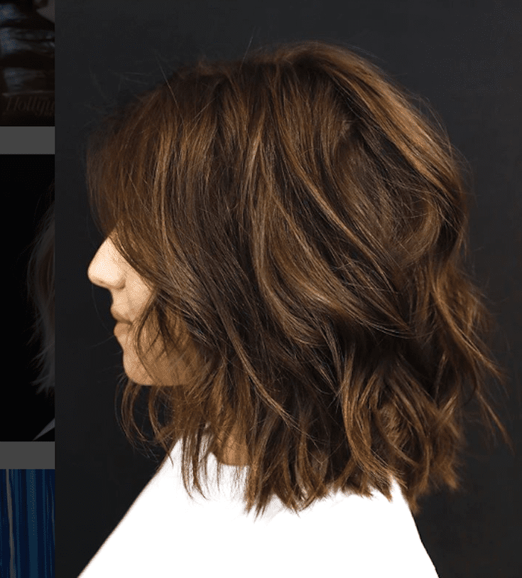 Examples Of Brunette Highlights You Definitely Won T Regret Short Hairstyles For Thick Hair Haircut For Thick Hair Thick Wavy Hair