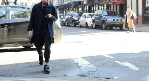 Street Style. New York. Photo by George Elder.  menswear mnswr mens style mens fashion fashion style streetstyle