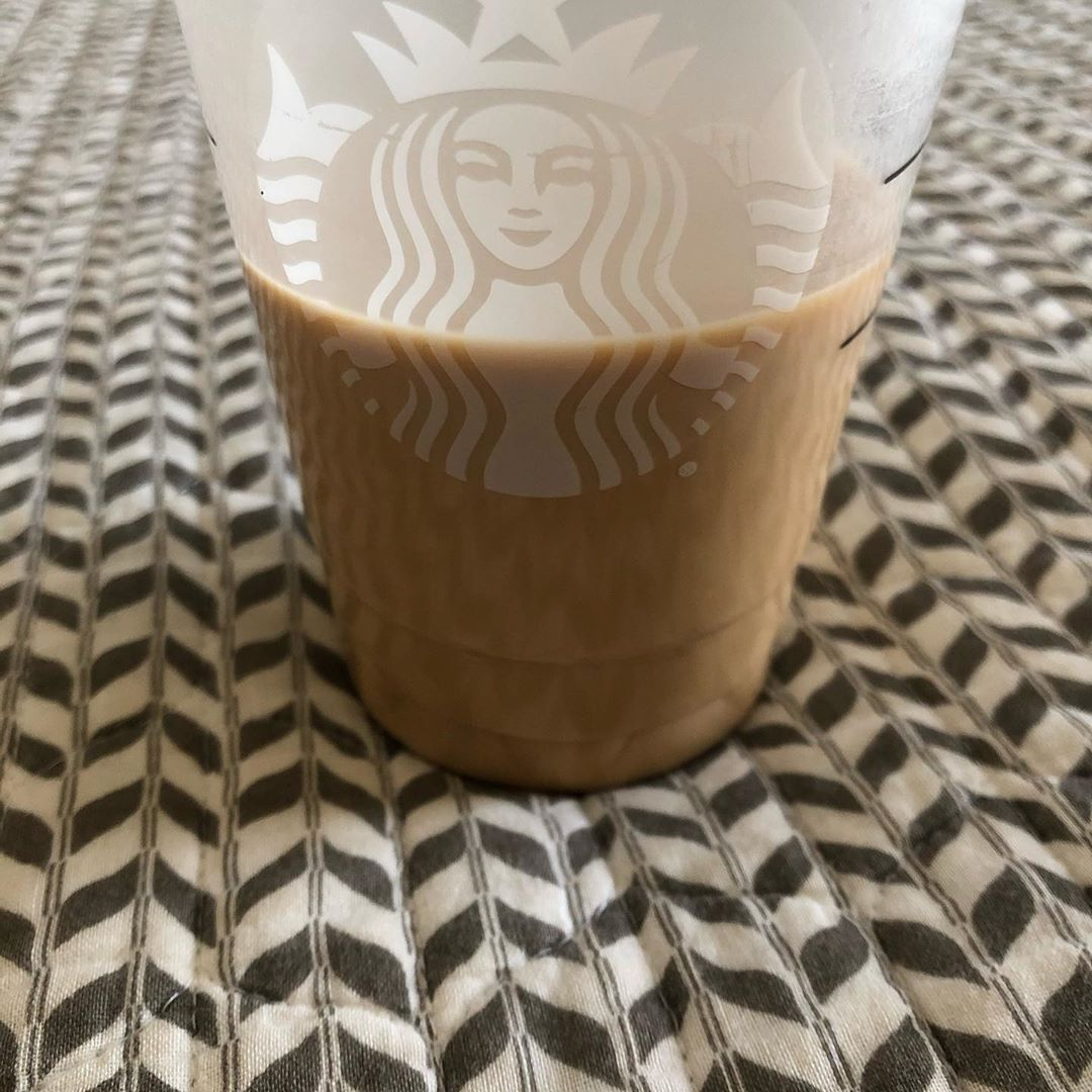 Love me some Carmel iced coffee 😋 generated with @autotagsapp