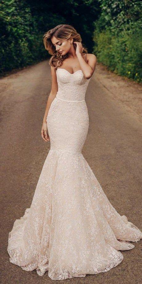30 mooie off-shoulder trouwjurken waar je dol op zult zijn #offtheshoulderd …